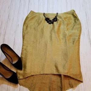 Gold Dressis Skirt